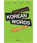 2000 Essential Korean Words Intermediate