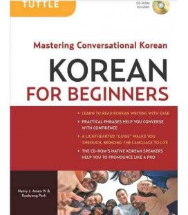 Korean for Beginners - Mastering Conversationl Korean (CD incluso ROM)