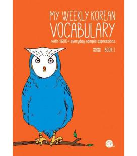 My weekly Korean vocabulary 1