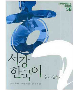 Sogang Korean New 5B- Student Book (2 Books + 1 CD)