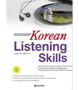 Korean Listening Skills- Practical Task for Beginers (INCLUDE CD MP3)