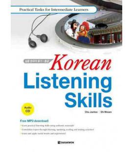 Korean Listening Skills- Practical Tasks for Intermediate Learners (mit MP3 CD)