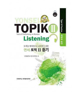 Yonsei Topik II- Listening (Test of Proficiency in Korean)- Type & Practice- Incluye CD MP3