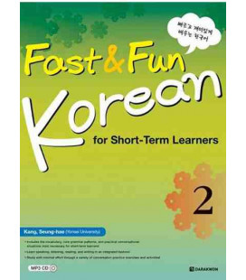 Fast & Fun Korean for Short-Term Learners 2- Includes CD MP3