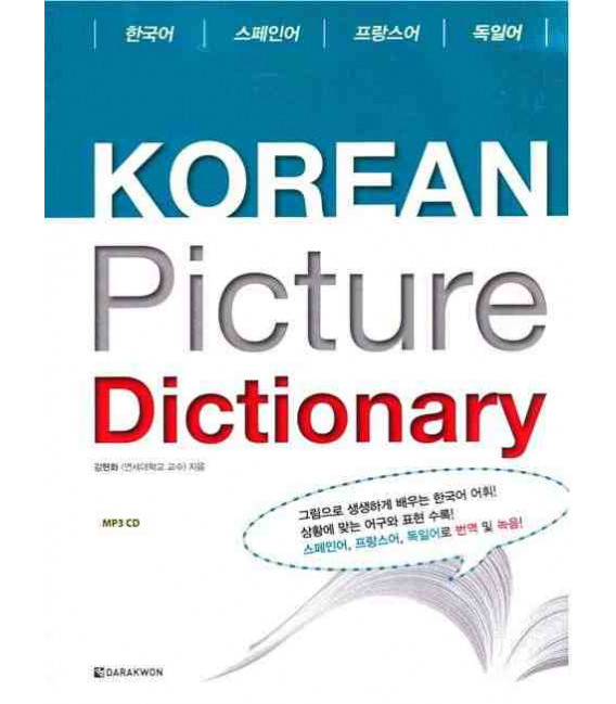 Korean Picture Dictionary- Spanish-French-German