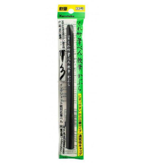 Rotulador Kuretake 33 de punta flexible (imitación pincel)