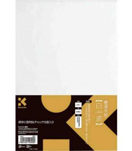 Kalligraphieblätter Kuretake – Model LA5-1 (hohe Qualität – 50 Blätter)