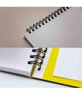 Maruman Mnemosyne Notebook N180A (Tamaño A4) - Cuadrículas de 5 mm