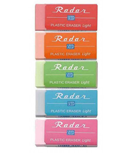 Seed Radar Light 100 - Pack 5 colores de gomas (importado de Japón)