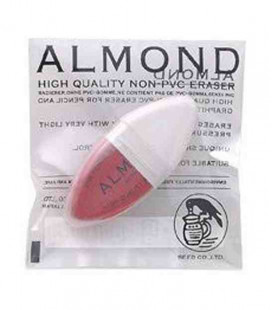 Seed-Radiergummi Almond - Radiergummi von Bleistift und Tinte in Top-Qualität (PVC-frei) - importiert aus Japan